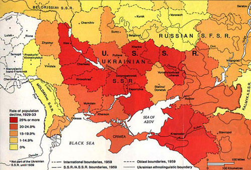 Was the Ukrainian Famine of 1932-1933 a genocide?