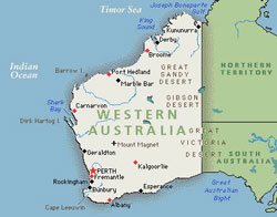Large Map of Western Australia